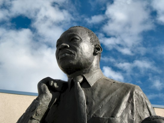 sculpture of Martin Luther King