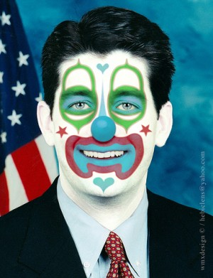 clown paul ryan